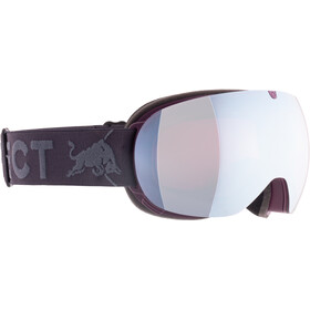 Red Bull SPECT Magnetron Ace Goggles, burgundy-mauve snow